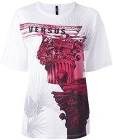 Versus architecture print T-shirt