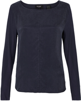 Oxford Phillipa Cupro T-Shirt Deep Navy X