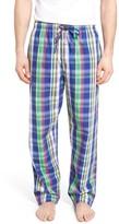 Polo Ralph Lauren Men's Plaid Cotton Lounge Pants