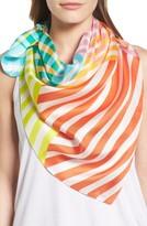 Echo Women's Cambon Stripe Silk Square Scarf