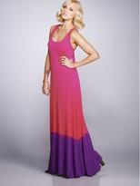 Jersey Dip Dye Maxi Dress