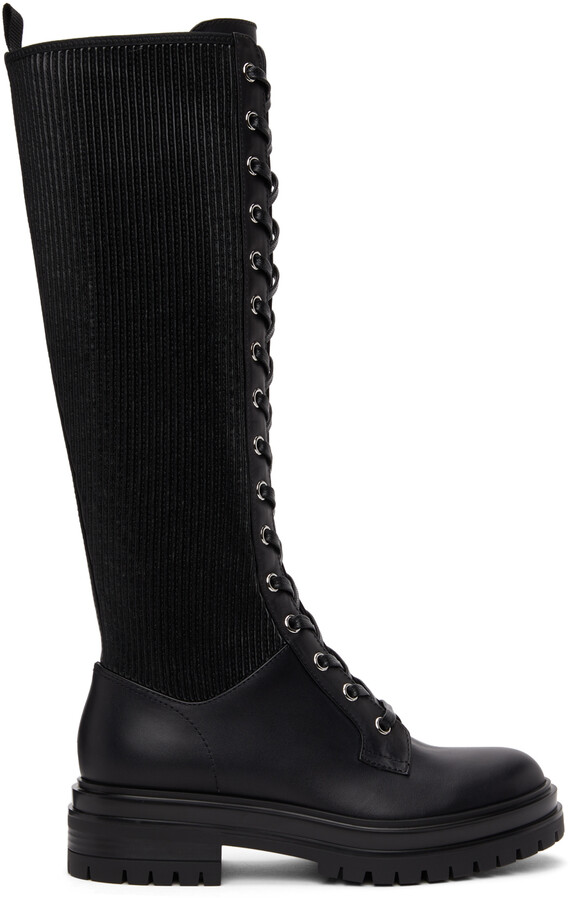 Thumbnail for your product : Gianvito Rossi Black Martis 20 Tall Boots