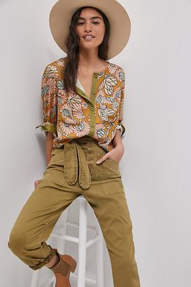 Mandy Buttondown By Tiny in Yellow Size XS