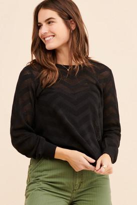 ModCloth Zig Zag Stitch Pullover