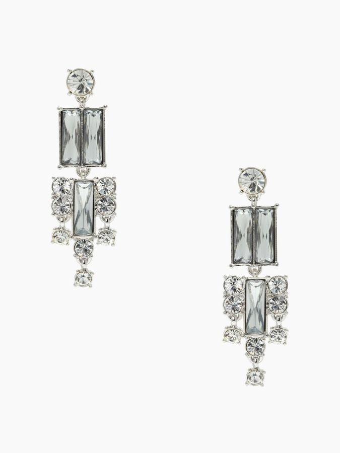 Kate Spade City skyline statement earrings