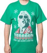 Freeze Men's WWE Christmas Flair T-Shirt