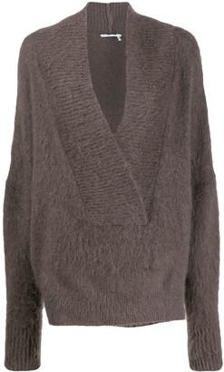 Agnona Oversized V-Neck Sweater