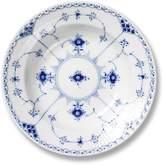 Royal Copenhagen Blue Fluted Half Lace Rimmed Soup Bowl