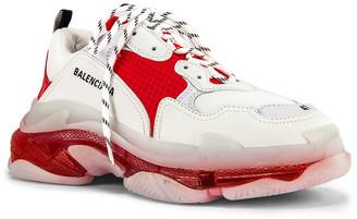 Balenciaga Triple S Sneaker in White | FWRD