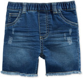 First Impressions Distressed Denim Shorts, Baby Boys (0-24 months), Only at Macy's