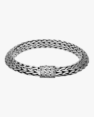 John Hardy Knife-Edge Amulet Connector Bracelet
