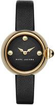 Marc Jacobs Women's Courtney Black Leather Strap Watch 28mm MJ1432