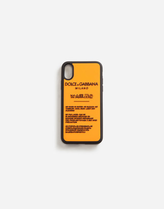Dolce & Gabbana Iphone X Cover In Rubber