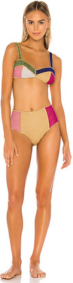 Oseree Colore Bra Bikini Set