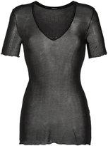 OSKLEN sheer design blouse