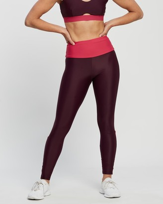 Horizon Women's Red Tights - The Nitrogen Leggings - Size One Size, L at The Iconic