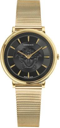 Versace Women's V-Circle Medusa Bracelet Watch, 38mm