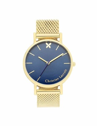 Christian Lacroix Womens Quartz Watch with Stainless Steel Strap CLFH1808