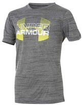 Under Armour Boy's Tech Big Logo Hybrid Tee