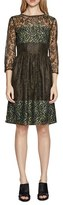 French Connection Women's 'Molly' Lace Fit & Flare Dress