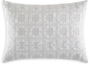 Vera Wang Origami Pleat Stitch Decorative Pillow, 12 x 16 - 100% Exclusive