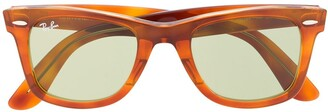 Ray-Ban Wayfarer tinted sunglasses