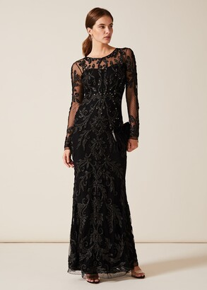 Phase Eight Contessa Tapework Lace Dress