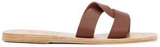 Ancient Greek Sandals Brown Desmos Sandals