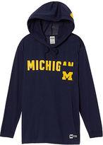 PINK University Of Michigan Campus Hoodie Tee