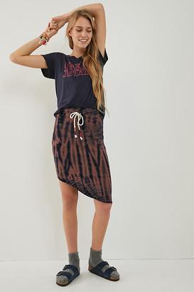 Sundry Lora Tie-Dye Mini Skirt By in Blue Size XS