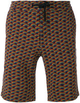 Marc Jacobs rainbow-print shorts - men - Cotton - S