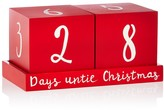 Bloomingdale's Days Until Christmas Mantle Decoration - 100% Exclusive