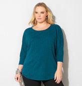 Avenue Step Stitch Pullover Sweater