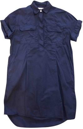 Hope Blue Cotton Dress for Women