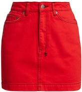 Ksubi Super X Mini Denim Skirt