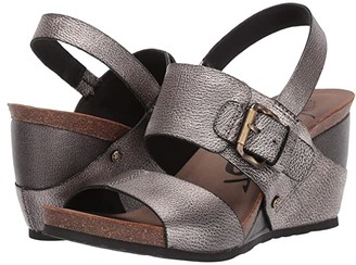 OTBT Overnight (Grey/Pewter) Women's Wedge Shoes