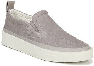 Via Spiga Leather Slip-On Sneakers - Markie