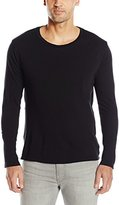 Alternative Men's Cotton Jersey Distressed Heritage Long Sleeve