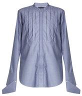 Ellery Tightly Bound bib-front cotton shirt