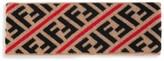 Fendi FF Logo Stripe Headband