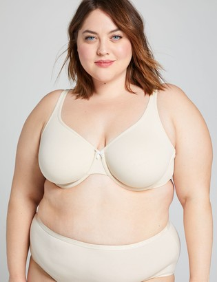 Lane Bryant Cotton Unlined Full Coverage Bra