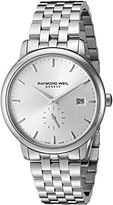 Raymond Weil Men's 5484-ST-65001 Analog Display Quartz Silver Watch