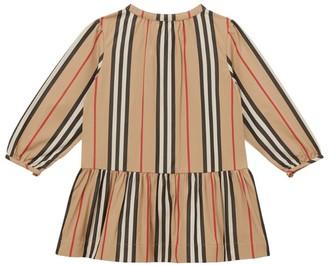 Burberry Kids Icon Stripe Dress (6-24 Months)