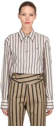 Vivienne Westwood Striped Cotton Shirt