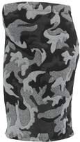 LOVE2WAIT CAMOUFLAGE Pencil skirt grey