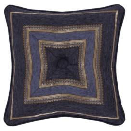 "J Queen New York Woodstock 18"" Square Decorative Throw Pillow, 18"" x 18"" Bedding"