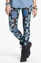 Mimichica Mimi Chica Print Leggings (Juniors)