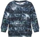 Molo Camo Palm Stripe Marton Sweaters
