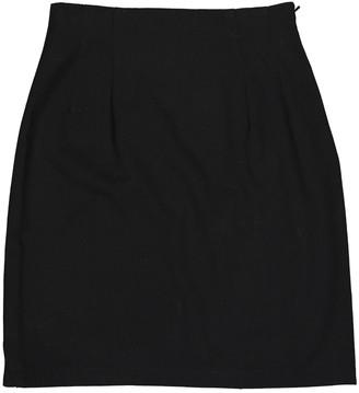 Galliano Black Wool Skirt for Women