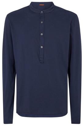 Barena Cotton Henley T-Shirt